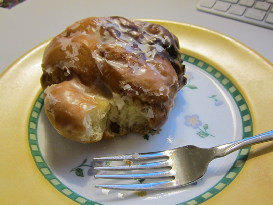 Fritters are better the second day, unlike every other donut.