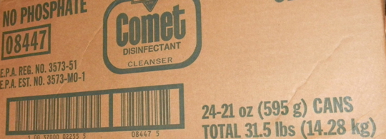 So try some Comet...