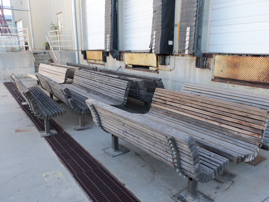 benches at auction