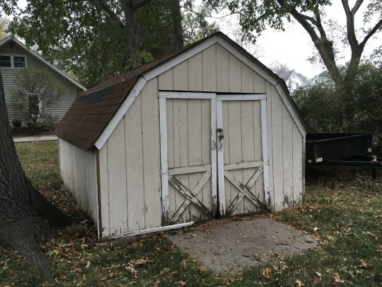 Shed Update